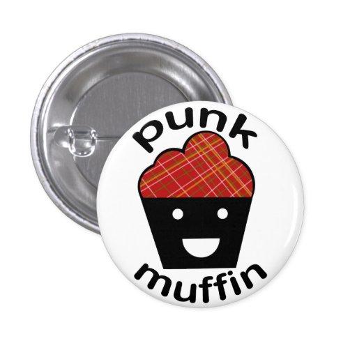 Greg the Punk Muffin Pinback Buttons