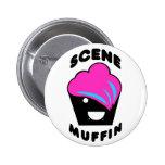 Greg the Scene Muffin Pinback Button