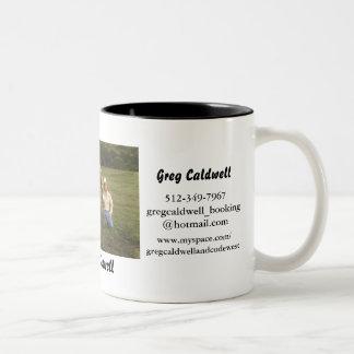 Greg y Goldie taza de cerámica de 11 onzas