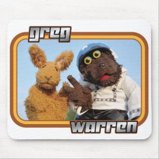 "Greg y Warren - ""jinete débil"" - ropa ligera Tapetes De Raton"