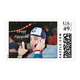Gregg.jpg, GreggFinegood, All proceeds to be do... Postage Stamps