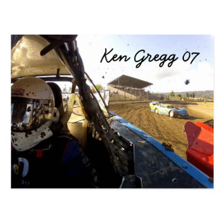 Gregg Racing Autograph card