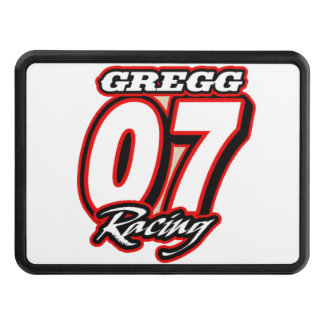 Gregg Racing Logo Tow Hitch Cover