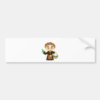 Gregor Mendel Bumper Sticker