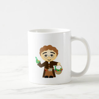 Gregor Mendel Classic White Coffee Mug