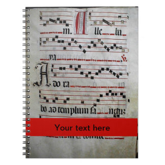 Gregorian Chant facsimile Notebook