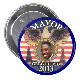 Gregory Floyd para el alcalde 2013 de NYC Pins