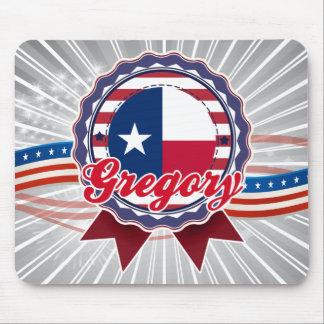 Gregory, TX Tapete De Ratón