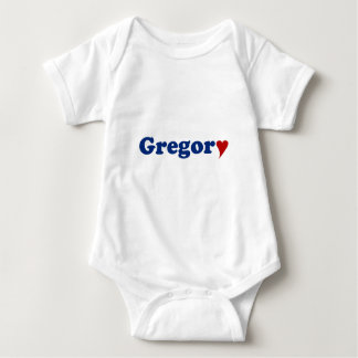 Gregory with Heart Tee Shirt