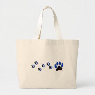 GregRobert Official Paw Print Designer Tote Bag