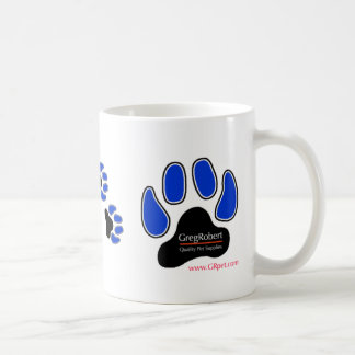 GregRobert Official Paw Print Designer Coffee Mug
