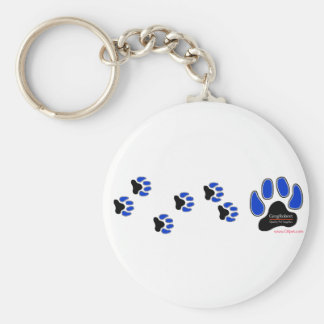 GregRobert Official Paw Print Designer Key Chain