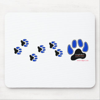 GregRobert Official Paw Print Designer Mouse Pads