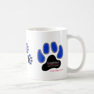 GregRobert Official Paw Print Designer Mugs