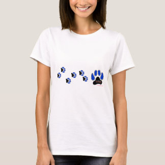 GregRobert Official Paw Print Designer T-Shirt