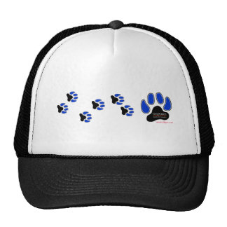 GregRobert Official Paw Print Designer Trucker Hat