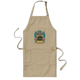 Gregs Coat of Arms - Family Crest Long Apron