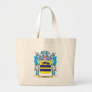 Gregs Coat of Arms - Family Crest Canvas Bags