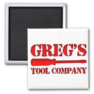 Greg's Tool Company Fridge Magnets