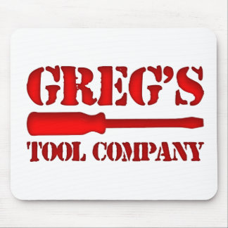 Greg's Tool Company Mouse Pad