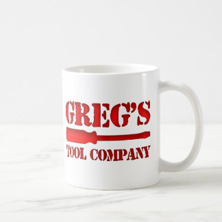 Greg's Tool Company Mug
