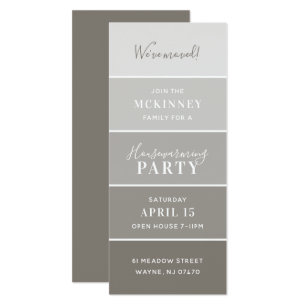 Swatch gifts on zazzle greige paint swatch card housewarming party invite reheart Image collections
