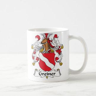 Greiner Family Crest Coffee Mug