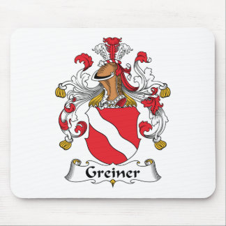 Greiner Family Crest Mouse Pad