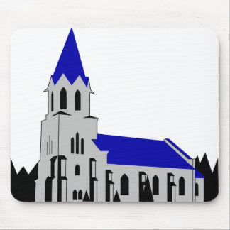 Grejs Church Mouse Pad