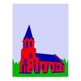 Grejs Kirke - Grejs Church Postcard
