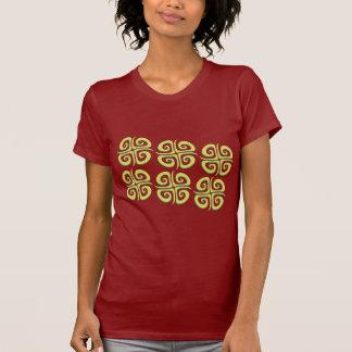 Grellow Spiral Crosses T-Shirt