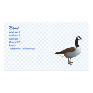 Greman Goose Business Card