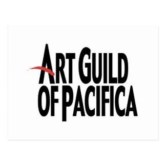 Gremio del arte de Pacifica Postales