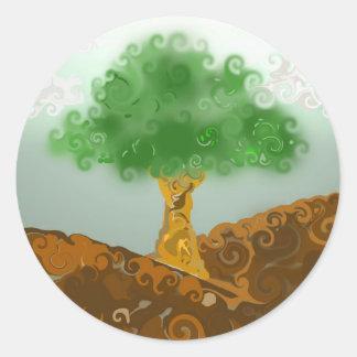 Gremis el árbol pegatina