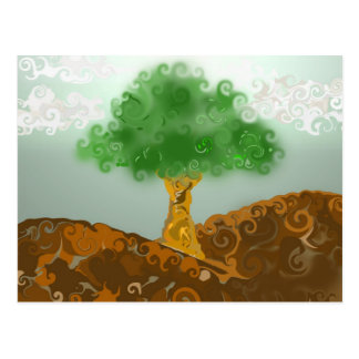 Gremis el árbol tarjetas postales