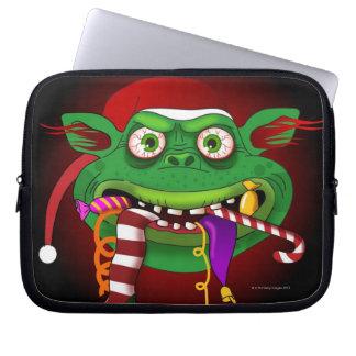 Gremlin que come el caramelo funda portátil