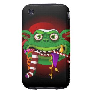Gremlin que come el caramelo tough iPhone 3 protectores