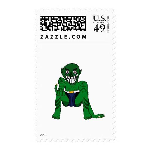 Gremlin Stamp