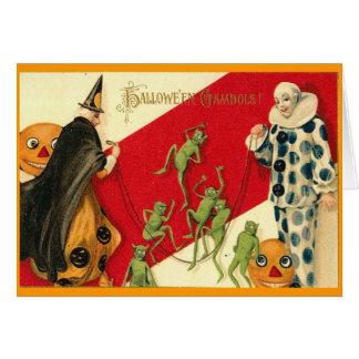Gremlins Goblins Vintage Stationery Note Card