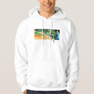 Gren Lanterns Flying in Space Hoodie