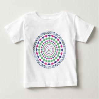 gren red blue geometric pattern baby T-Shirt
