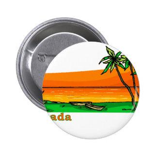 Grenada 2 Inch Round Button