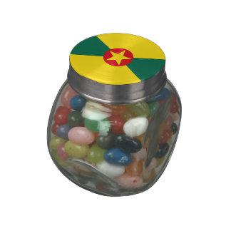 Grenada Glass Jars