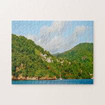 Grenada Caribbean Seascape. Jigsaw Puzzle