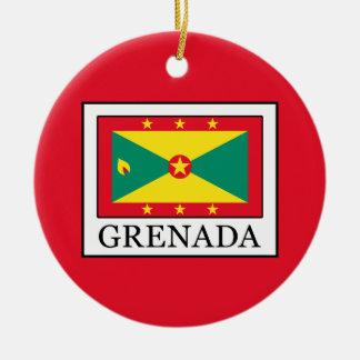 Grenada Ceramic Ornament