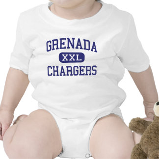 Grenada Chargers Middle Grenada Mississippi Baby Bodysuits