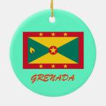 GRENADA Custom Christmas Ornament