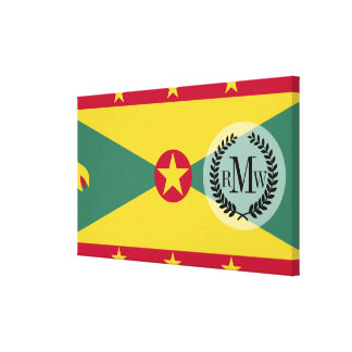 Grenada Flag Canvas Print