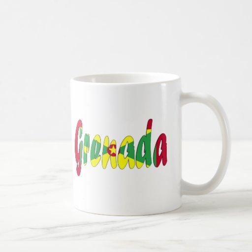 Grenada Flag Classic White Coffee Mug