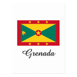Grenada Flag Design Postcard